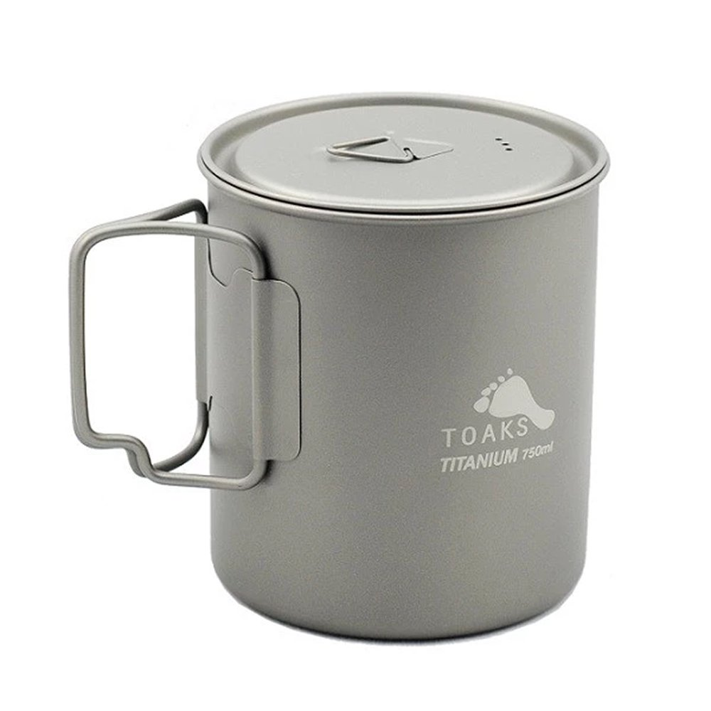 TOAKS トークス Titanium Lid D145mm チタニウム ふた アウトドア食器