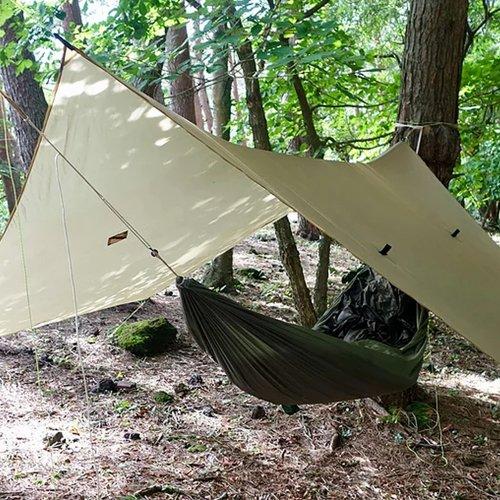 ヘキサタープテント 2m アクセサリーキットセット 防水加工 The Heron Tarp ヘロンタープ 軽量 Hummingbird Hammocks