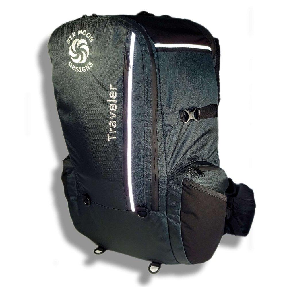 バックパック 40l リュック バッグ シックスムーンデザインズ トラベラー パック グレー SIX MOON DESIGNS Traveler Pack