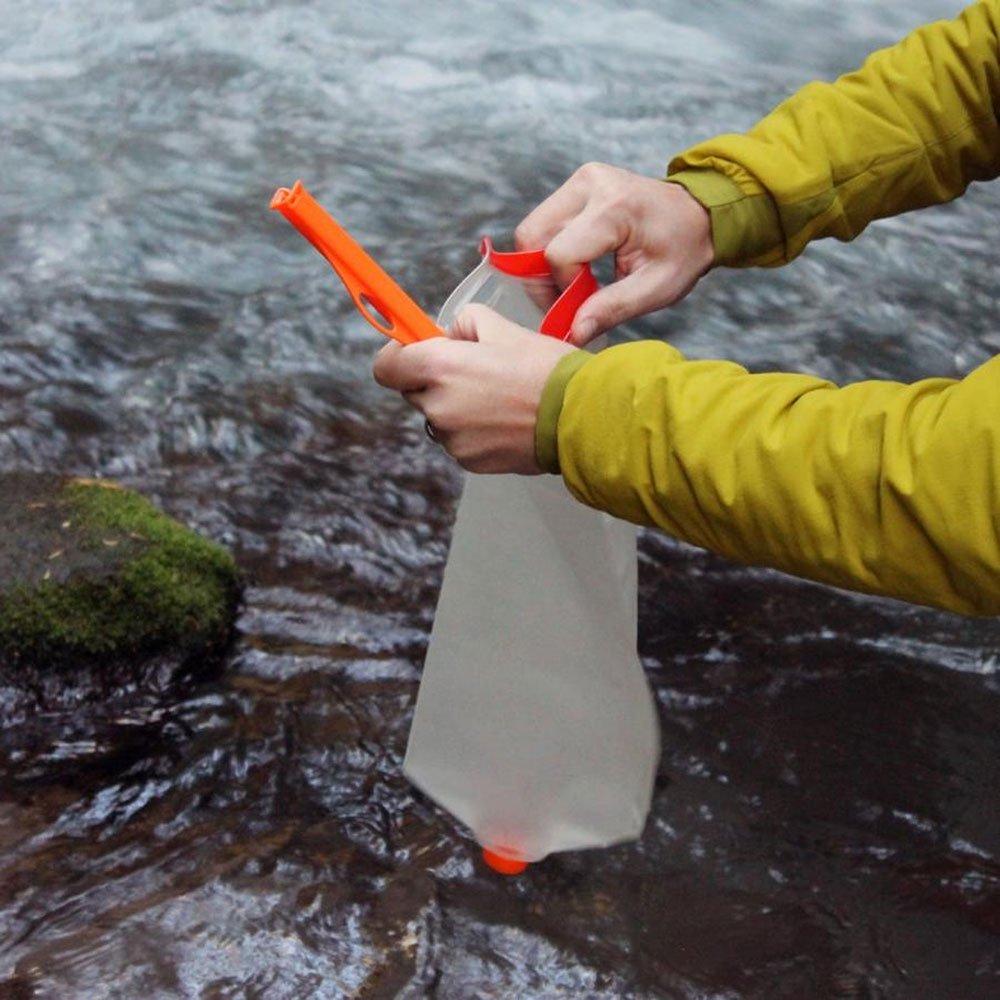 クノック アウトドア ウォーターコンテナ 給水 洗浄可能 ヴェクト 3L オレンジ CNOC Outdoor Vecto 3L Blue Orange キャンプ アウトドア