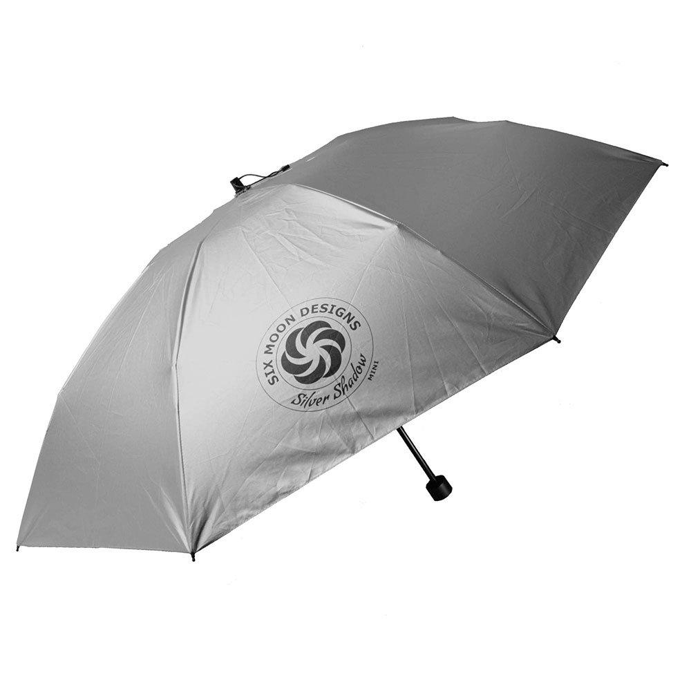 シルバーシャドーミニ アンブレラ 193g 折りたたみ傘 撥水加工 ハイキング トレッキングサンパラソル SIX MOON DESIGNS Silver Shadow Mini Umbrella
