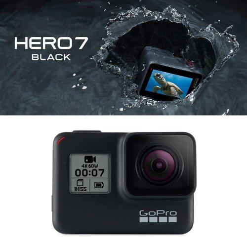 ゴープロ ヒーロー7 ブラック アクションカメラ ウェアラブルカメラ ビデオ Gopro HERO7 Black 防水 CHDHX-701-FW
