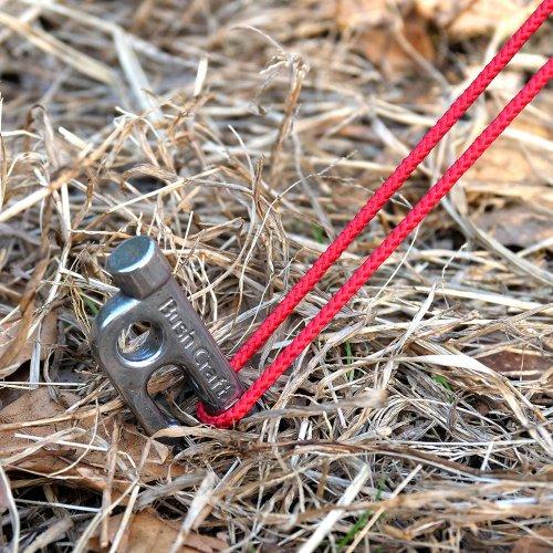 ブッシュクラフト SUSタフステーク 6本セット テントペグおすすめ アウトドア キャンプ Bush Craft