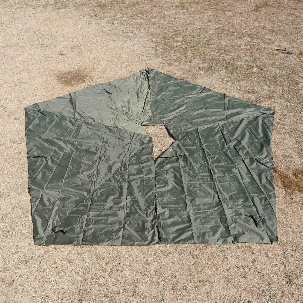 五角形グランドシート フリスポート ベーシック 5-7 フットプリント アウトドア キャンプ frisport basic bunnduk
