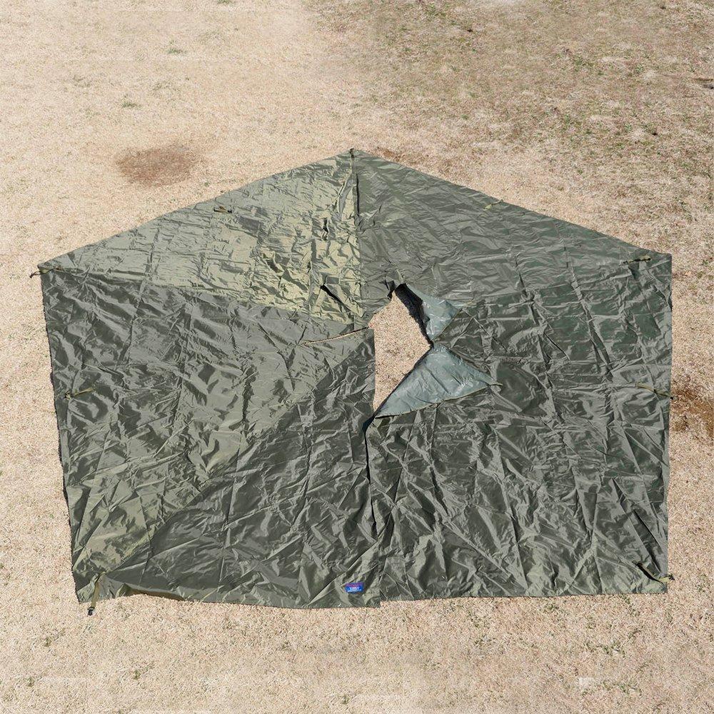 五角形グランドシート フリスポート エクストリーム 8 フットプリント アウトドア キャンプ frisport bunnduk