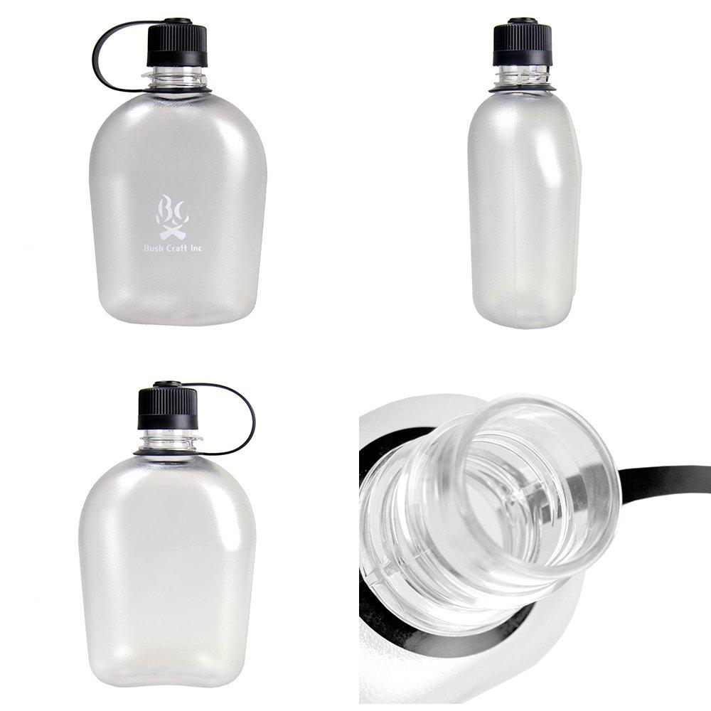 ブッシュキャンティーンボトル スタッキング ボトル 湯たんぽ 水筒 ウォーターキャリー キャンプ用品 Bush Craft