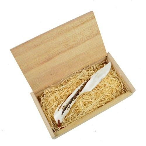 ブッシュクラフト 鹿角ナイフ ラージ エゾジカの角 ハンドメイドナイフ キャンプ用品 Bush Craft