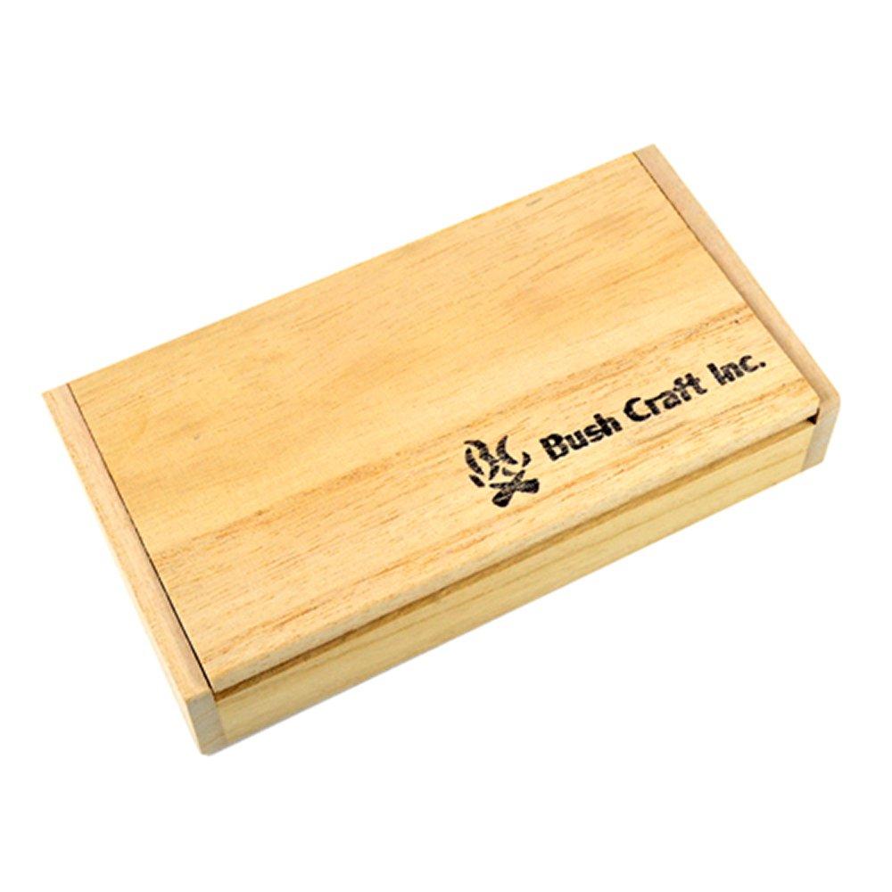 ブッシュクラフト 鹿角ナイフ スモール エゾジカの角 ハンドメイドナイフ キャンプ用品 Bush Craft
