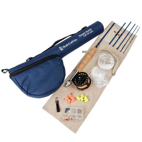 フライフィッシング・スターティングセット764-6 ブッシュクラフト 釣り道具 フィッシング アウトドア キャンプ Bush Craft