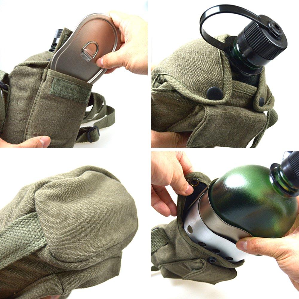 ロスコ キャンティーンカップ カバー ショルダーストラップ キャンティーンボトルに用カバー キャンプ用品 ROTHCO