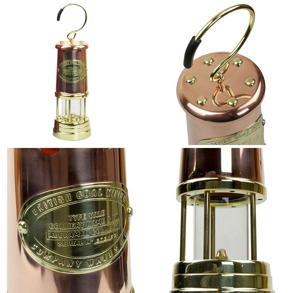 jdバーフォード マイナーズランプ Lサイズ カッパー&ブラス #C7 セーフティーランプ オイル ランプ ハンドメイド キャンプ用品 jd burford miners lamp ランタン
