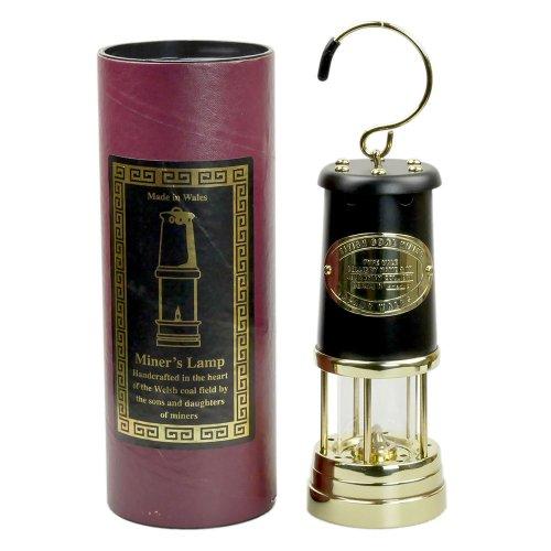 jdバーフォード マイナーズランプ Lサイズ ブラック&ブラス #96 セーフティーランプ オイル ランプ ハンドメイド キャンプ用品 jd burford miners lamp ランタン