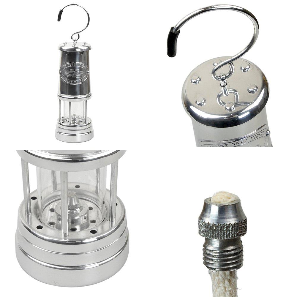 jdバーフォード マイナーズランプ Lサイズ オールニッケル #N60 セーフティーランプ オイル ランプ ハンドメイド キャンプ用品 アウトドア jd burford miners lamp