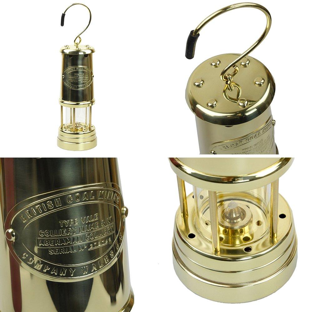 jdバーフォード マイナーズランプ Lサイズ オールブラス #B8 セーフティーランプ オイル ランプ ハンドメイド キャンプ用品 アウトドア jd burford miners lamp