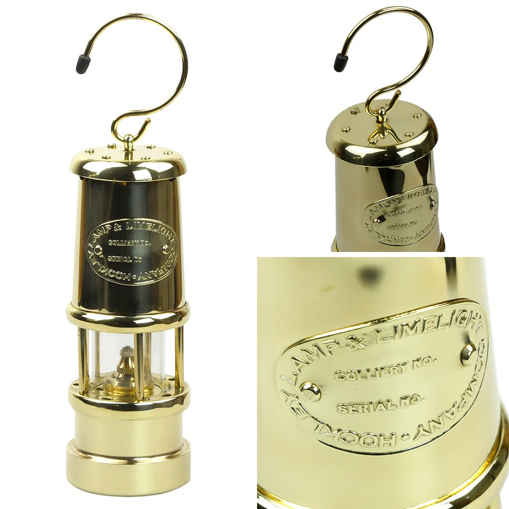 jdバーフォード マイナーズランプ Mサイズ オールブラス #B11 セーフティーランプ オイル ランプ ハンドメイド キャンプ用品 jd burford miners lamp ランタン