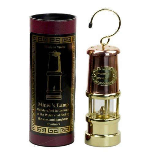jdバーフォード マイナーズランプ Mサイズ カッパー&ブラス #C6 セーフティーランプ オイル ランプ ハンドメイド キャンプ用品 jd burford miners lamp ランタン