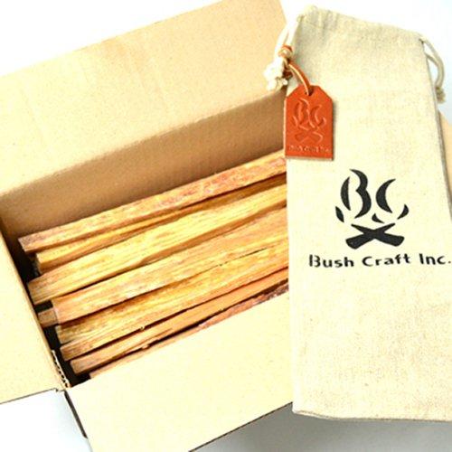 ブッシュクラフト.jp ティンダーウッド 1000g 1kg 天然の松の木 火おこし用 自然の着火剤 サバイバル キャンプ BBQ Bush Craft TINDERWOOD