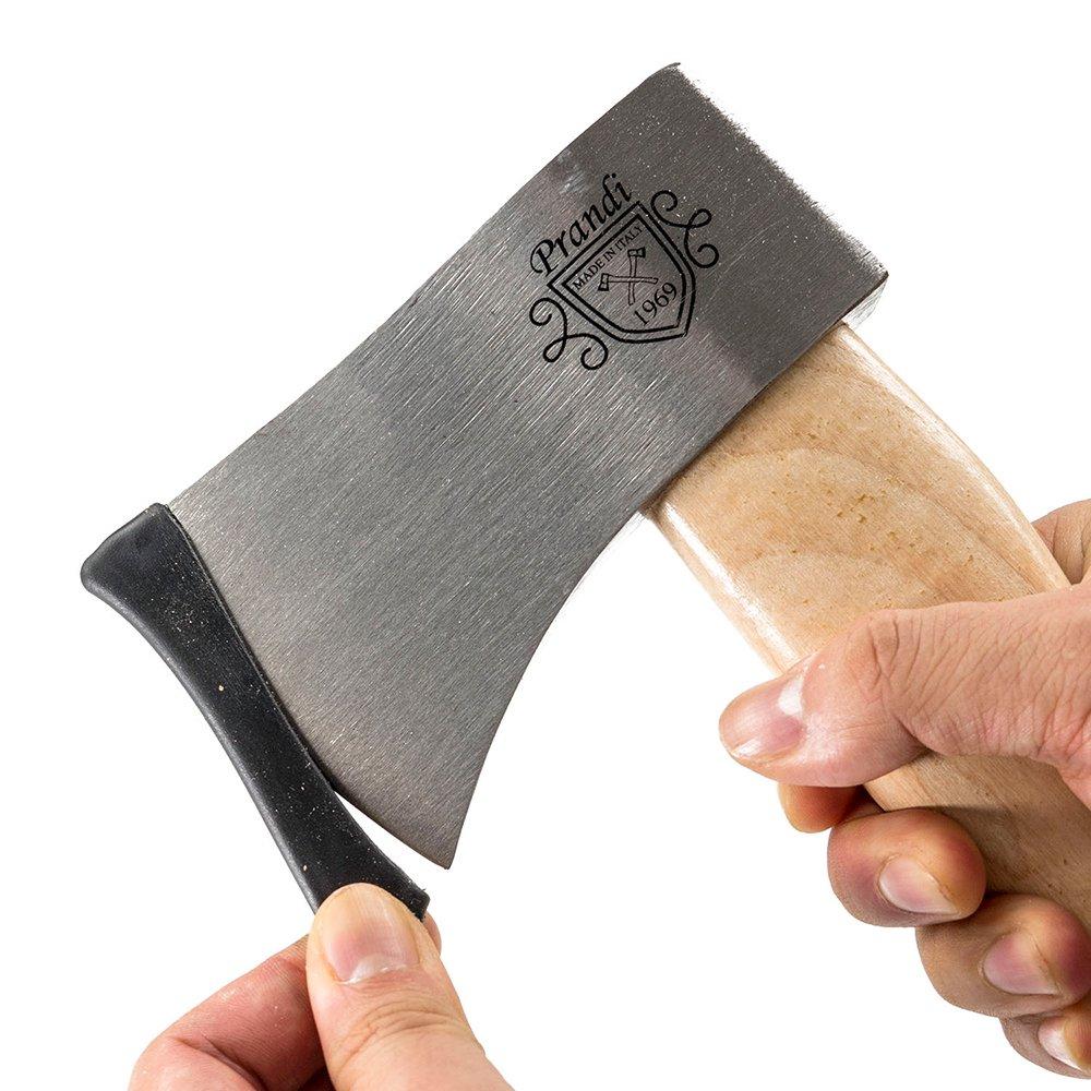 プランディ 斧 YANKEEハチェット600 クラシック ヒッコリーハンドル PRANDI オノ 焚き付け作成用斧 薪割り キャンプ アウトドア