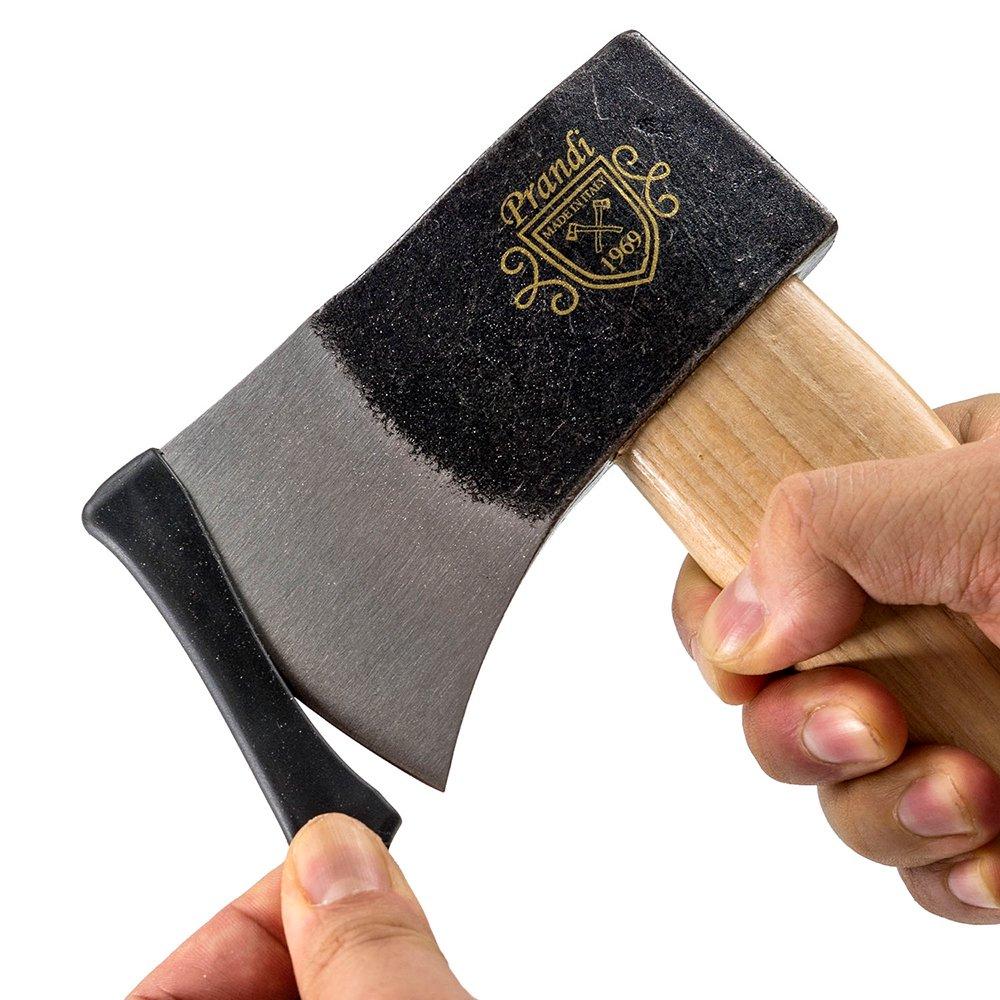プランディ 斧 YANKEEハチェット600 トラディショナル アッシュハンドル PRANDI オノ 焚き付け作成用斧 薪割り キャンプ アウトドア