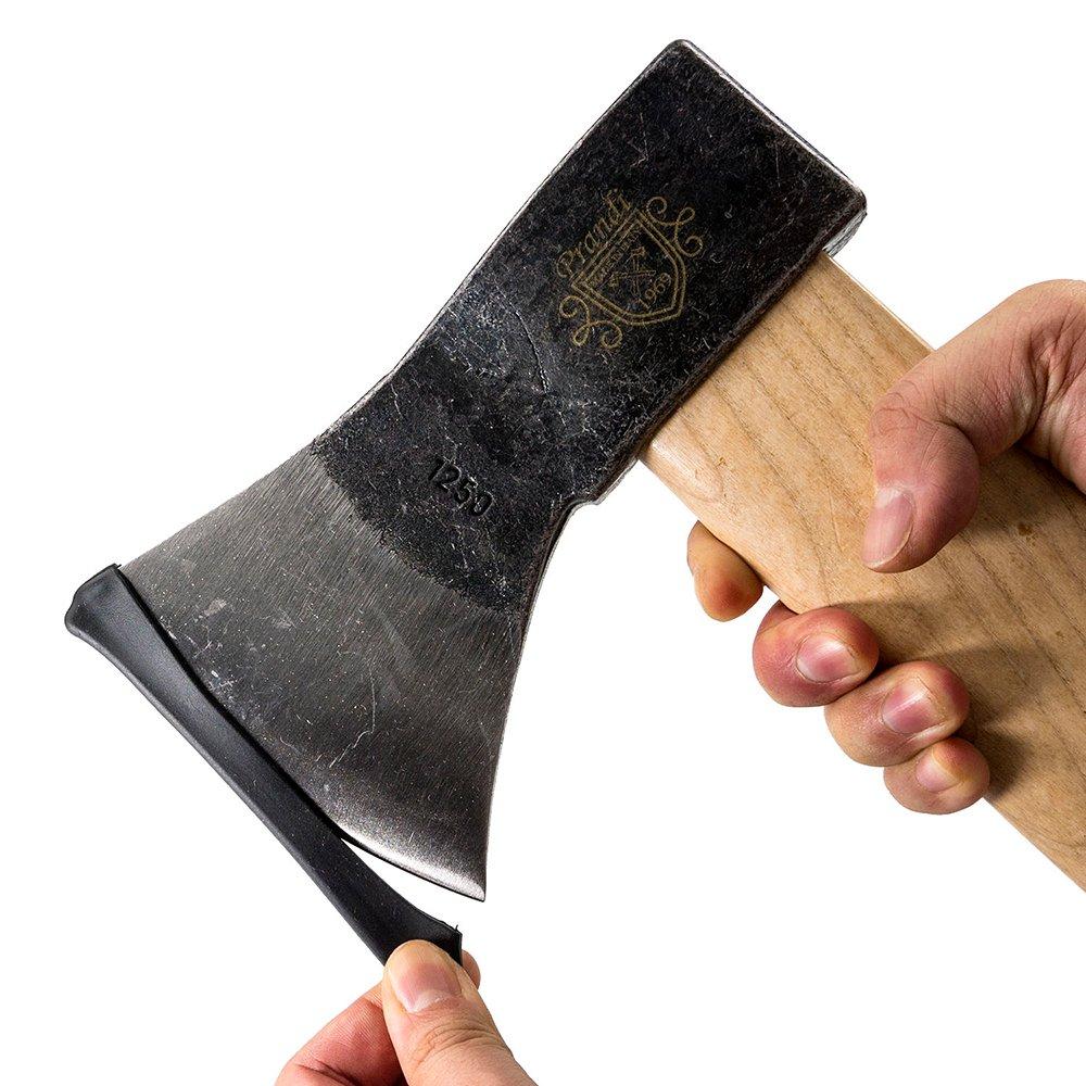 PRANDI 斧 ジャーマンタイプアックス1250 トラディショナル アッシュハンドル オノ 焚き付け作成用斧 薪割り キャンプ アウトドア