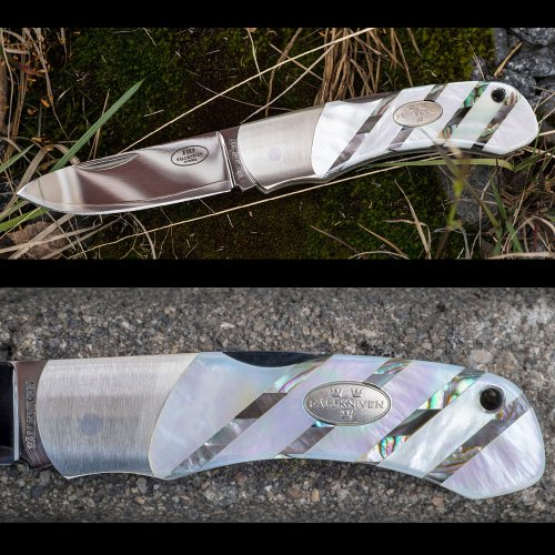 ファルクニーベン ナイフ 折りたたみナイフ コンパクトフォールディングナイフ FALLKNIVEN TK3mopc アウトドアナイフ キャンプ