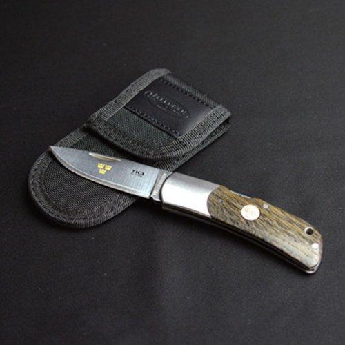 ファルクニーベン ナイフ 折りたたみナイフ コンパクトフォールディングナイフ FALLKNIVEN TK3oakc アウトドアナイフ キャンプ