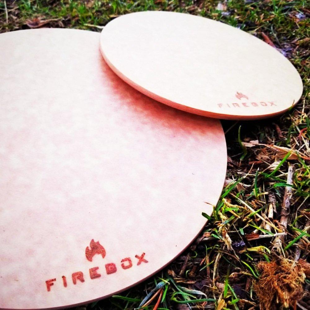 ファイヤーボックス カッティングボード Mサイズ 耐熱 Firebox Cutting Board Medium FB-CBM キャンプ アウトドア