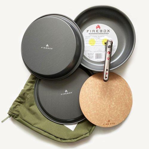 ファイヤーボックス ウルトラクックキット Lサイズ ダッチオーブン Firebox Ultra Cook Kit Large FB-UCKL キャンプ アウトドア