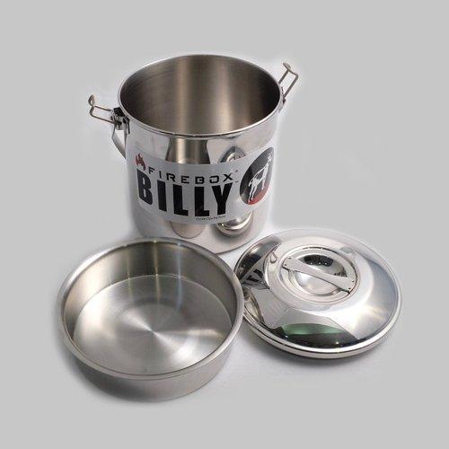 ファイヤーボックス ビリーカンブッシュクラフト Mサイズ 1900ml ブッシュクラフトポット Firebox Billy Bush Pot Medium FB-BCM キャンプ アウトドア