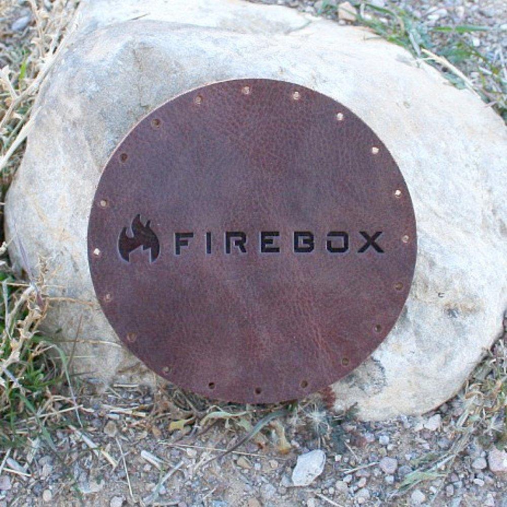 ファイヤーボックス レザーグリッププロテクター コースター 鍋敷き カッティングボード 鍋つかみ Firebox Leather Grip Protector FB-LG キャンプ アウトドア