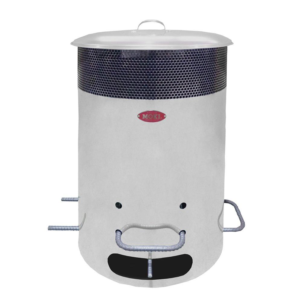 モキ製作所 MP200 ダイオキシンクリア 焚き火どんどん ゴミ焼却 無煙 無臭 屋外使用専用 ドラム缶サイズ 煙公害対策 火災予防 MOKI DONDON