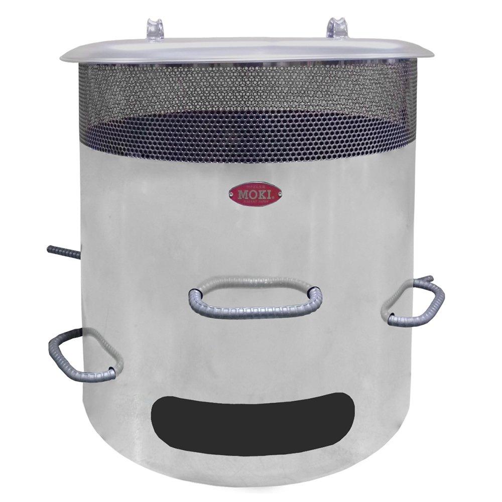 モキ製作所 MP350 ダイオキシンクリア 焚き火どんどん ゴミ焼却 無煙 無臭 屋外使用専用 かさ物も楽々投入 煙公害対策 火災予防 MOKI DONDON