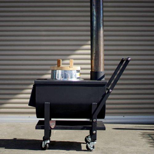 モキ製作所 防災イベントストーブ MD30KC 炊飯 焼き芋 煮物 焼き物 遠赤外線暖房 温暖化対策 MOKI アウトドア キャンプ 防災