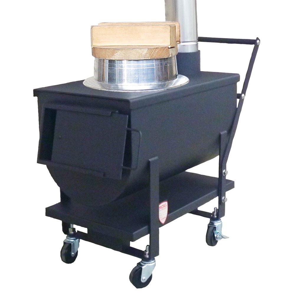 モキ製作所 防災イベントストーブ MD70KC 炊飯 焼き芋 煮物 焼き物 遠赤外線暖房 温暖化対策 MOKI アウトドア キャンプ 防災