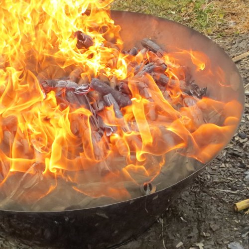モキ製作所 無煙炭化器 M50 焚き火 炭 消雪剤 遅霜対策 野焼き規制対策 松枯対策 土壌改良材 煙公害防止 MOKI Anthracite equalizer アウトドア BBQ
