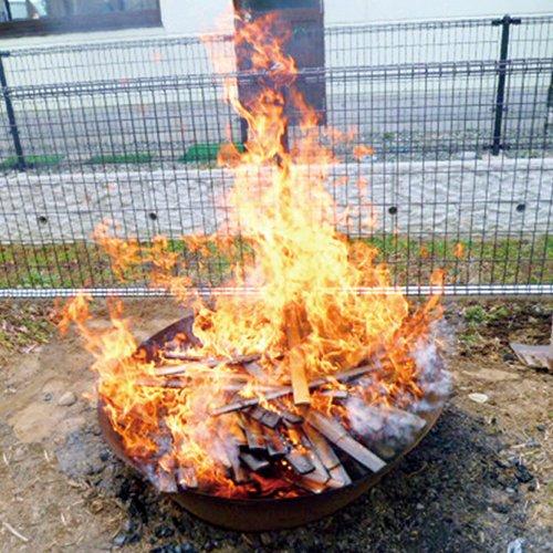 モキ製作所 無煙炭化器 M100 焚き火 炭 消雪剤 遅霜対策 野焼き規制対策 松枯対策 土壌改良材 煙公害防止 MOKI Anthracite equalizer アウトドア