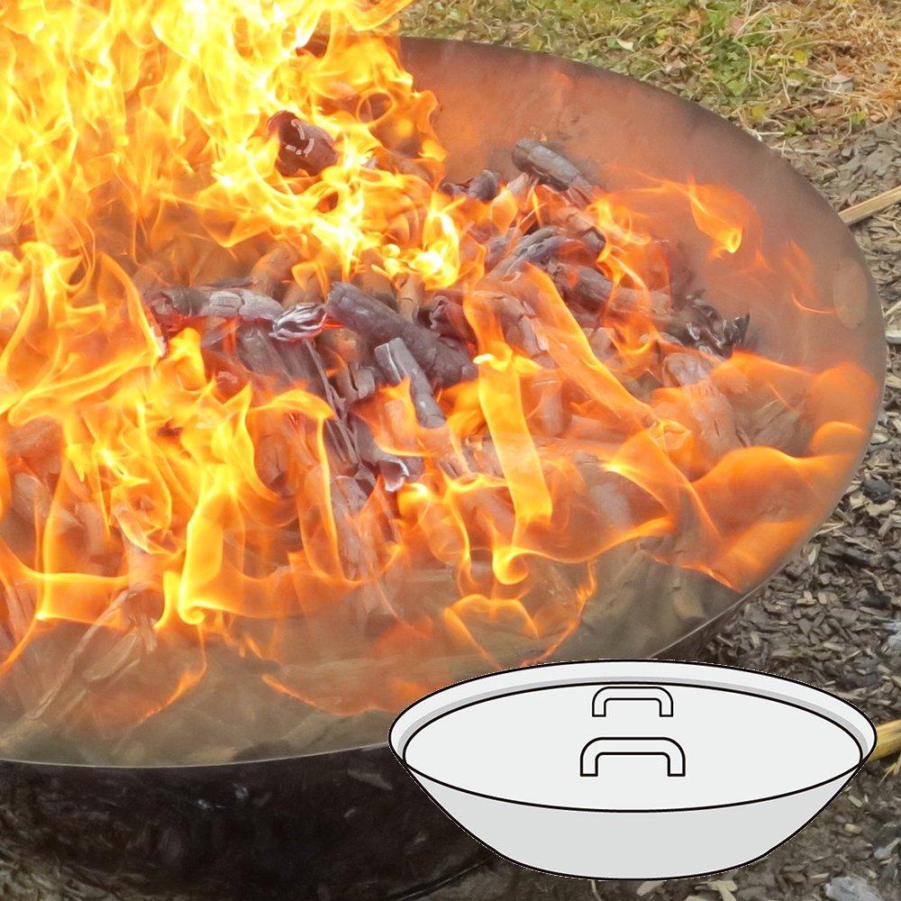 モキ製作所 無煙炭化器 M150 焚き火 炭 消雪剤 遅霜対策 野焼き規制対策 松枯対策 土壌改良材 煙公害防止 MOKI Anthracite equalizer アウトドア