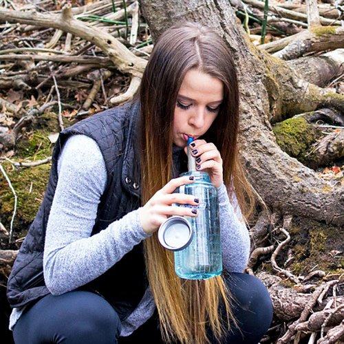 ハイドロブルー サイドキック フィルター ストロー型 3層式 濾過フィルター ウォーターフィルター 水フィルター HYDROBLU Sidekick Straw Water Filter HB-SK