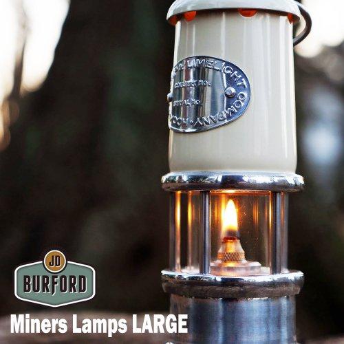 JDバーフォード マイナーズランプ Lサイズ セーフティーランプ オイル ランプ ハンドメイド ランタン キャンプ用品 jd burford miners lamp LARGE