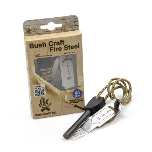 Bush Craft メタルマッチ ブッシュクラフト・ファイヤースチール 火起こし キャンプ アウトドア