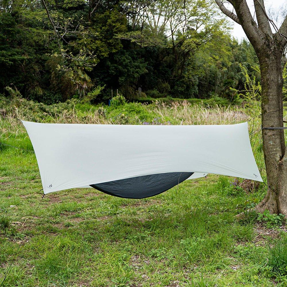 ブッシュクラフト ウルトラライト ハンモック タープ アウトドア キャンプ Bush Craft Ultra Light Hammock Tarp