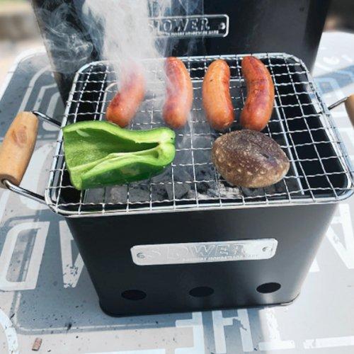 SLOWER BBQ STOVE Alta Small スロウワー BBQストーブ アルタ スモール コンパクトストーブ 1〜2人用 屋外
