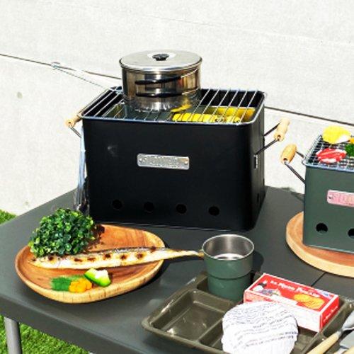 SLOWER BBQ STOVE Alta Large スロウワー BBQストーブ アルタ ラージ コンパクトストーブ 2〜4人用 屋外