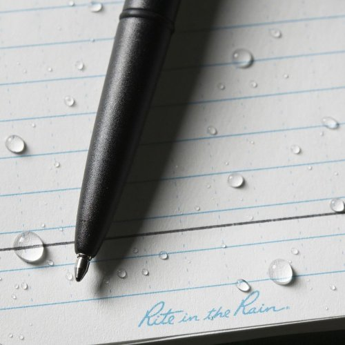 <img class='new_mark_img1' src='https://img.shop-pro.jp/img/new/icons1.gif' style='border:none;display:inline;margin:0px;padding:0px;width:auto;' />Rite in the Rain #96 ALL-Weather bullet pen ライトインザレイン オールウェザーバレットペン ブラック 防水ボールペン