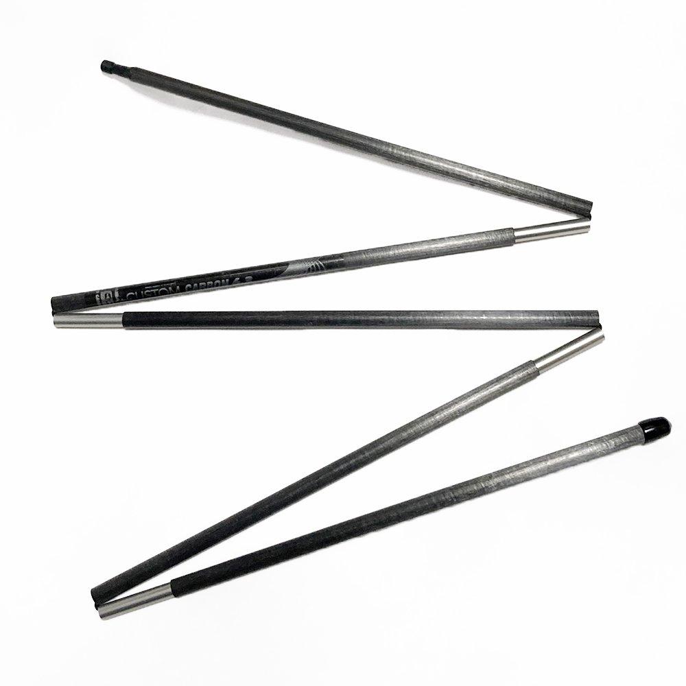 シックスムーンデザインズ 5セクション カーボン製テントポール SIX MOON DESIGNS 5 Section Carbon Tent Pole 116cm / 124cm