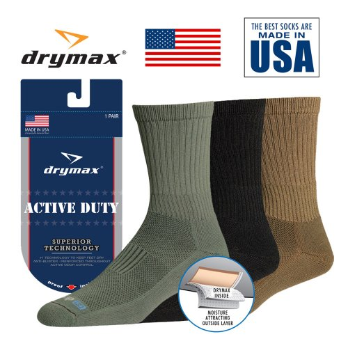 <img class='new_mark_img1' src='https://img.shop-pro.jp/img/new/icons1.gif' style='border:none;display:inline;margin:0px;padding:0px;width:auto;' />Drymax Active Duty Sock Tactical ドライマックス ソックス 靴下 ミリタリーライン 抗菌水ぶくれ 水虫