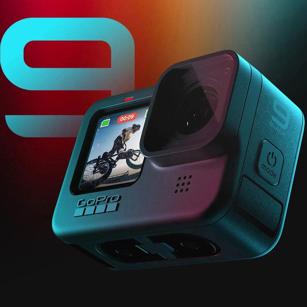 Gopro HERO9 Black ゴープロ ヒーロー9 ブラック アクションカメラ ウェアラブルカメラ ビデオ 防水 CHDHX-901-FW