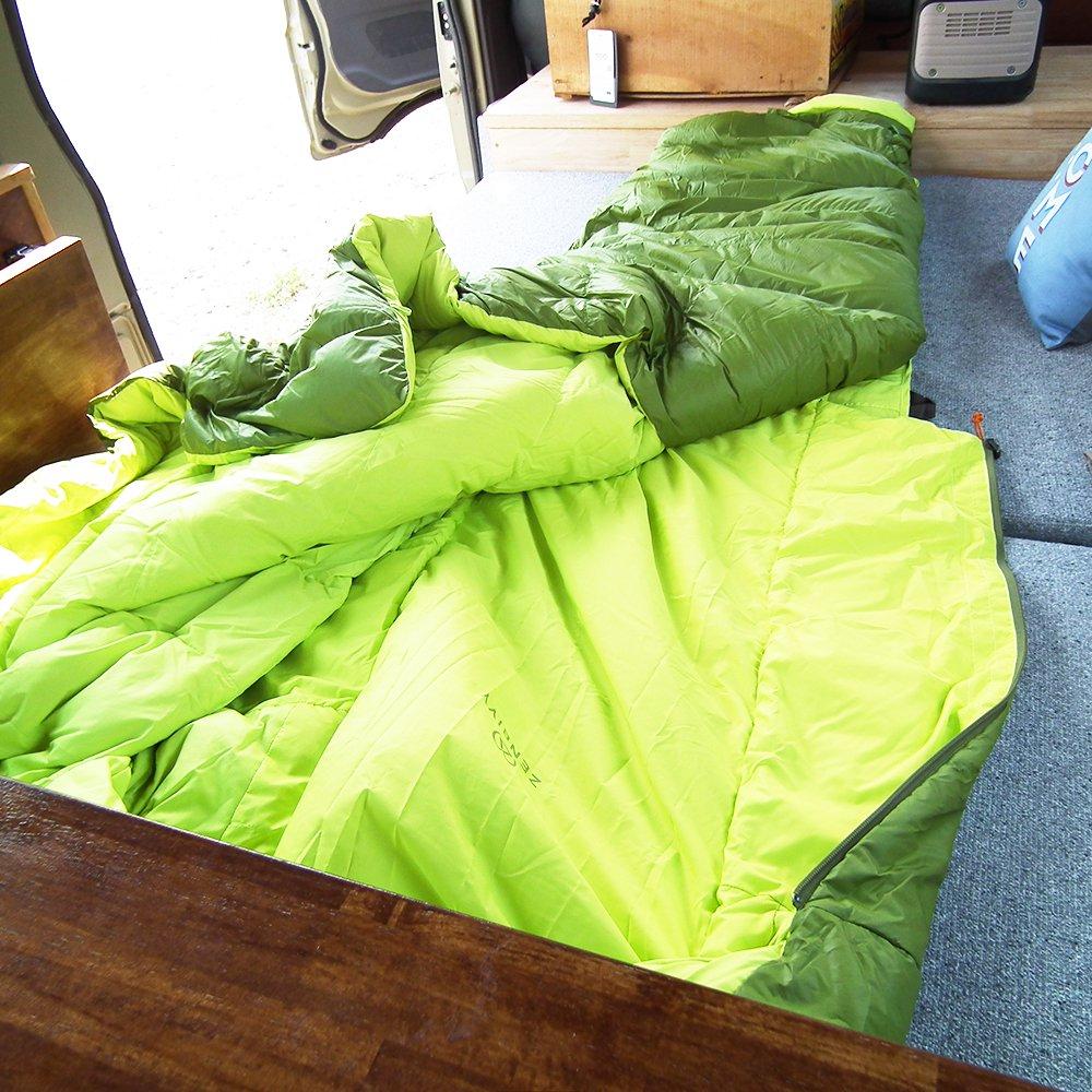 ゼンビビィ ベッドダウン 保温域-5℃ Zenbivyベッド ハイブリッド寝袋 ZEBBIVY Bed Down
