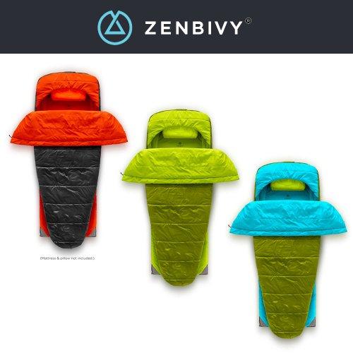 ゼンビビィ ベッドシンセティック 保温域-2℃ Zenbivyベッド ハイブリッド寝袋 ZEBBIVY Bed Synthetic
