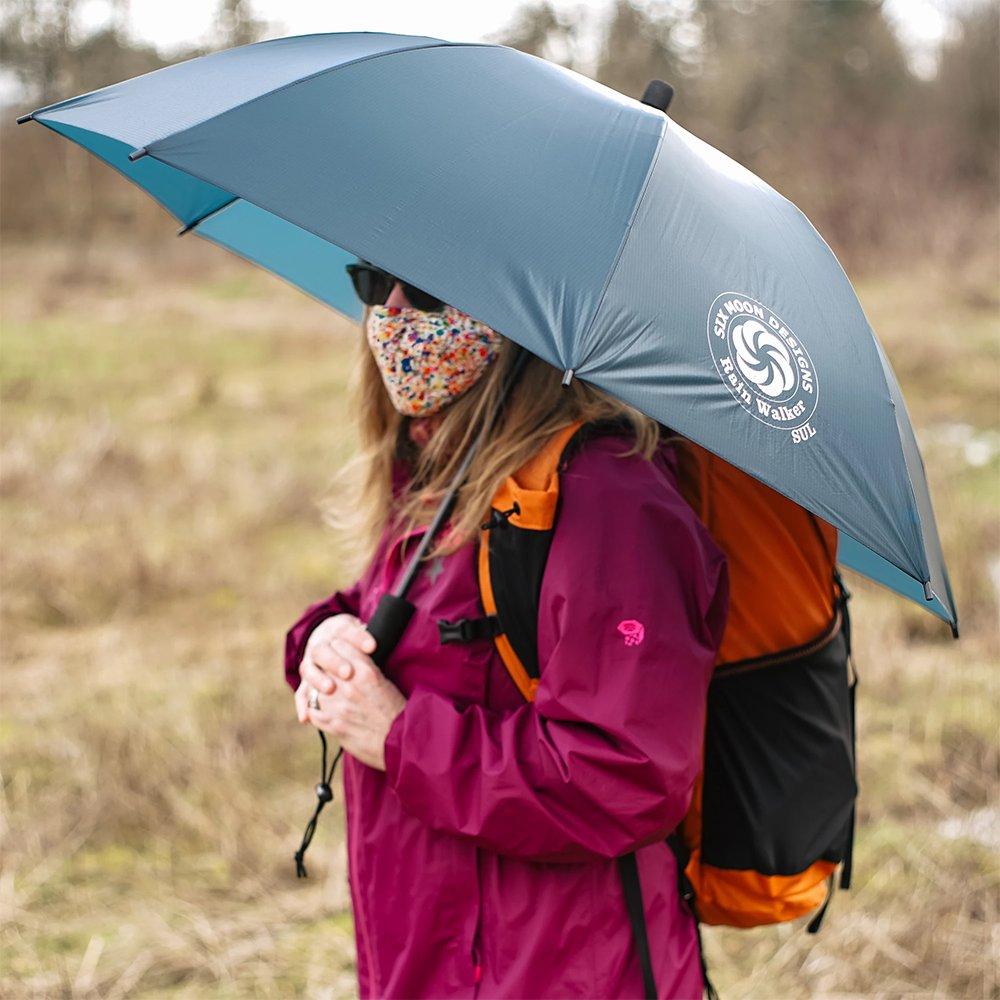 シックスムーンデザインズ レインウォーカーSULアンブレラ 156g SIX MOON DESIGNS Rain Walker SUL Umbrella